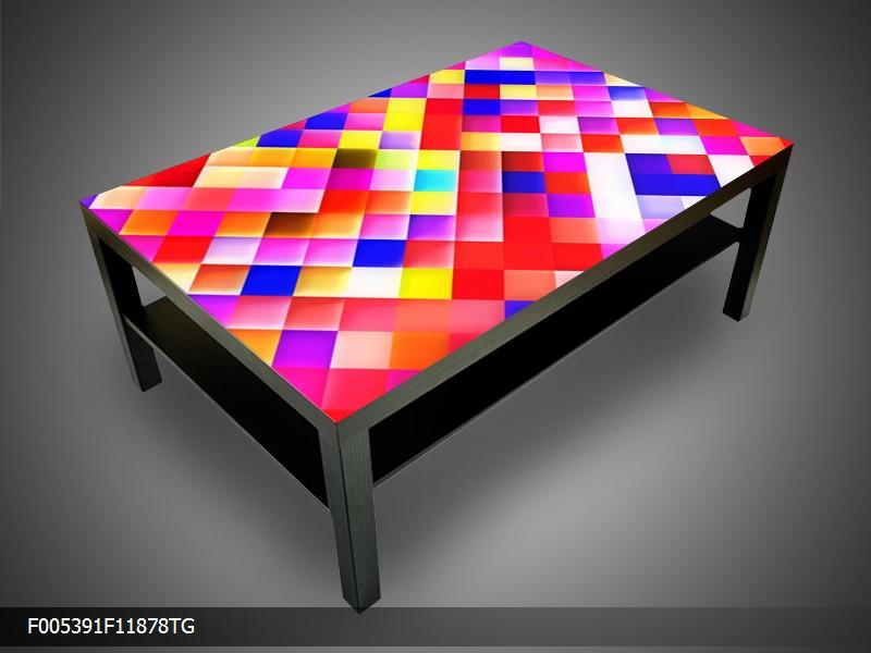 Konferenční stolek - barevné kostičky