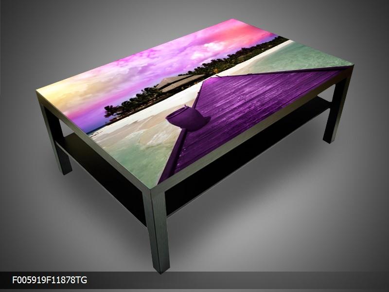 Konferenční stolek - dřevěné molo