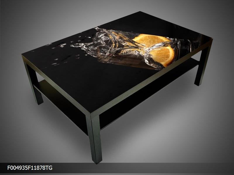 Konferenční stolek - sklenice, pomeranč