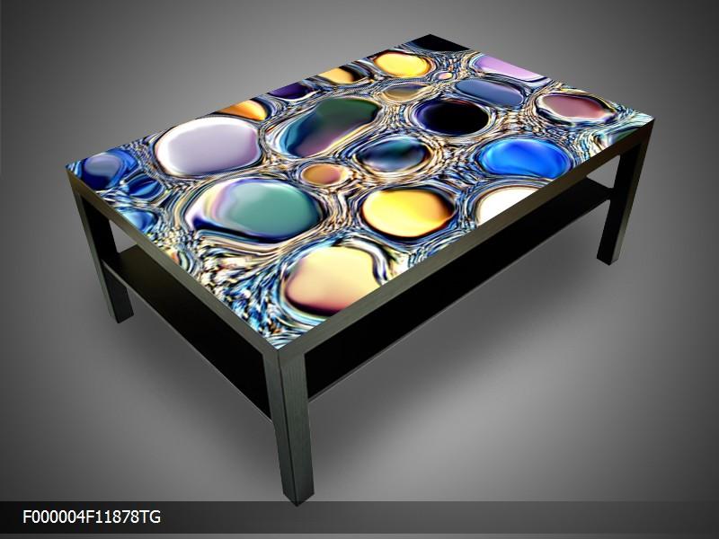 Konferenční stolek - barevné kapky