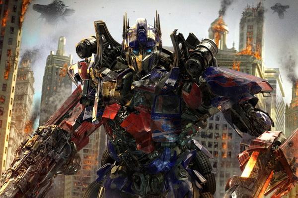 Fototapeta Optimus Prime