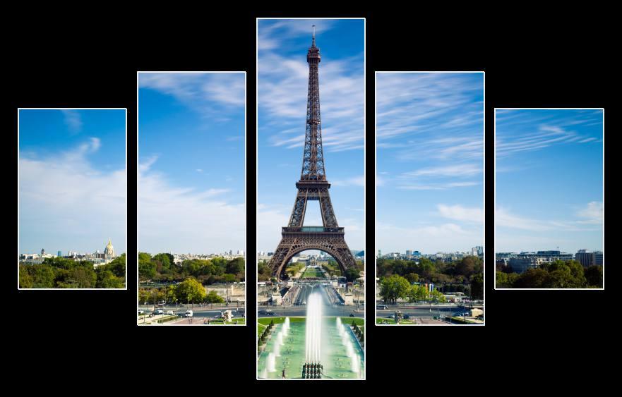 Obraz na stěnu Eiffelova věž