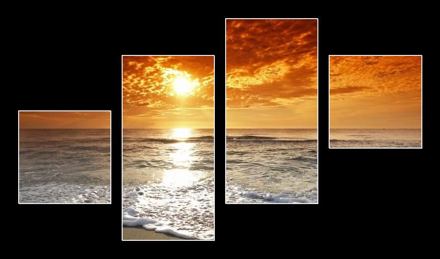 Obraz slunce, moře