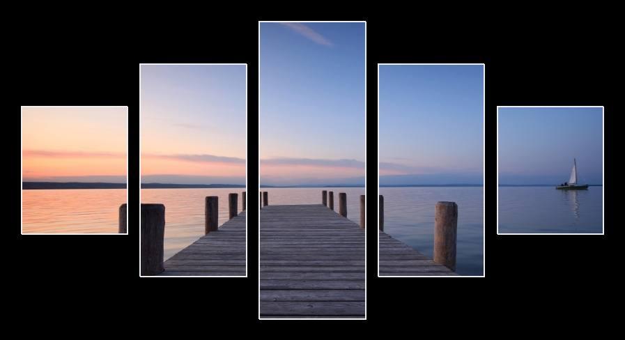Obraz mola,moře