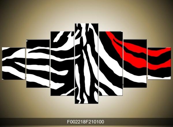Obraz vzor zebra