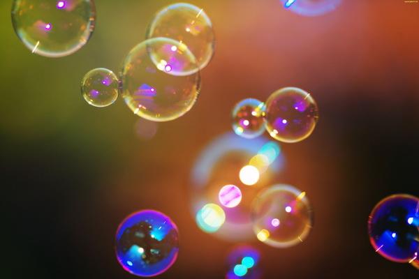 Fototapeta bublinky