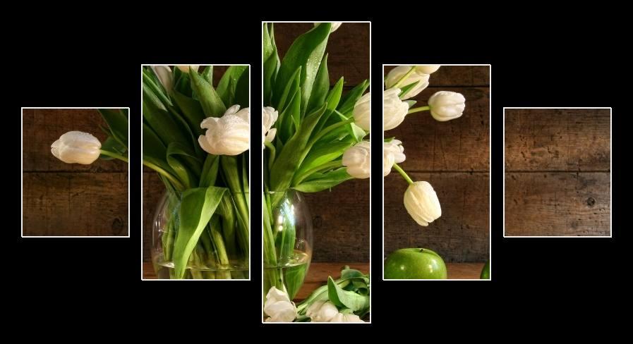 Obraz na zeď tulipány ve váze