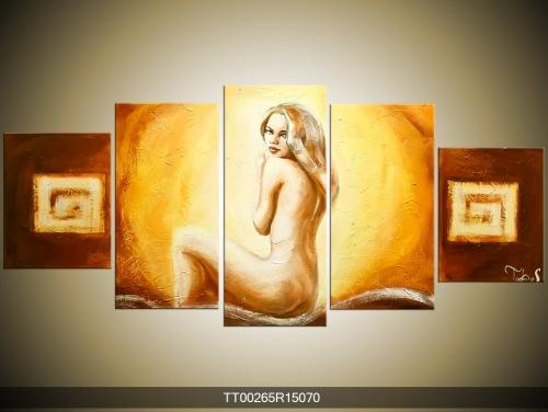 Obraz akt blondýnky