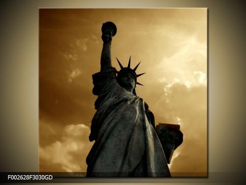 Obraz na skle Socha svobody