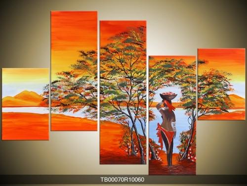 Obraz na zeď afričanka