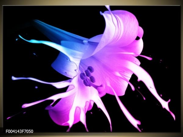 Moderní obraz květu