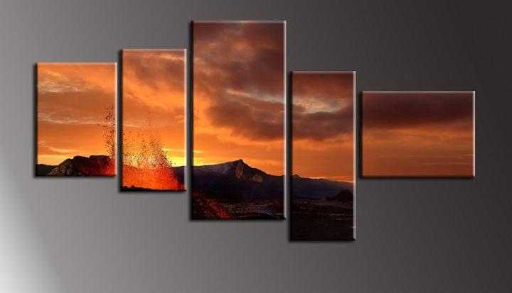 Obraz na stěnu sopka