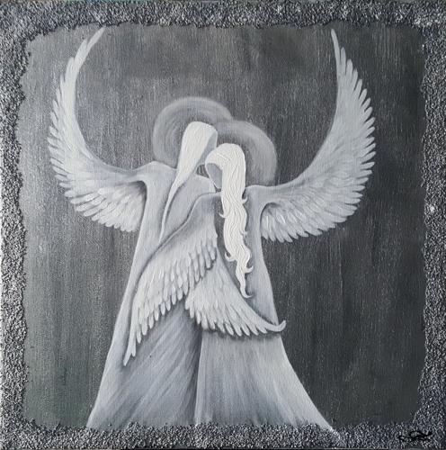 Obraz do bytu andělé 1
