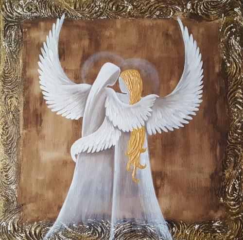 Obraz do bytu andělé 4