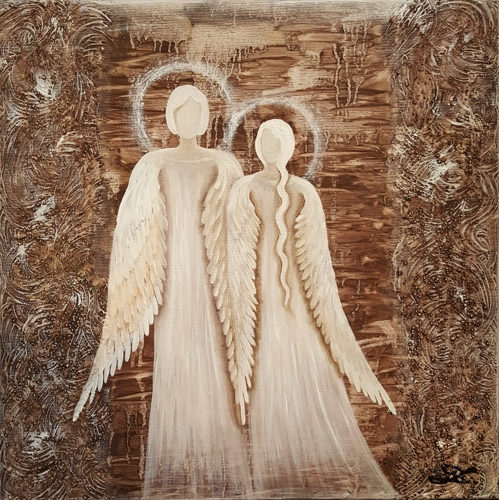 Obraz do bytu andělé 8