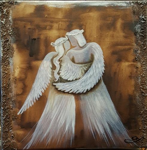 Obraz do bytu andělé 9