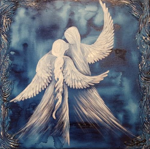 Obraz do bytu andělé 11
