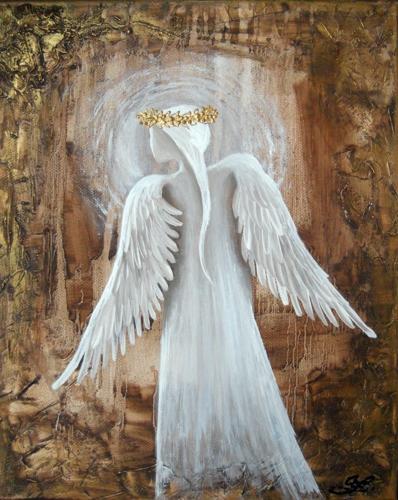 Obraz na plátně andělé 18
