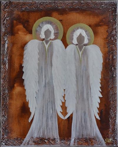 Obraz na plátně andělé 20