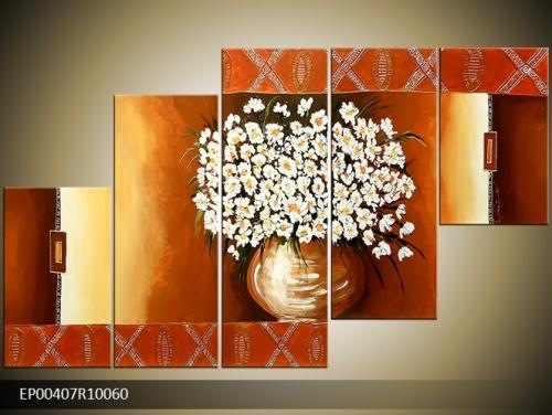 Obraz vázy s květinami