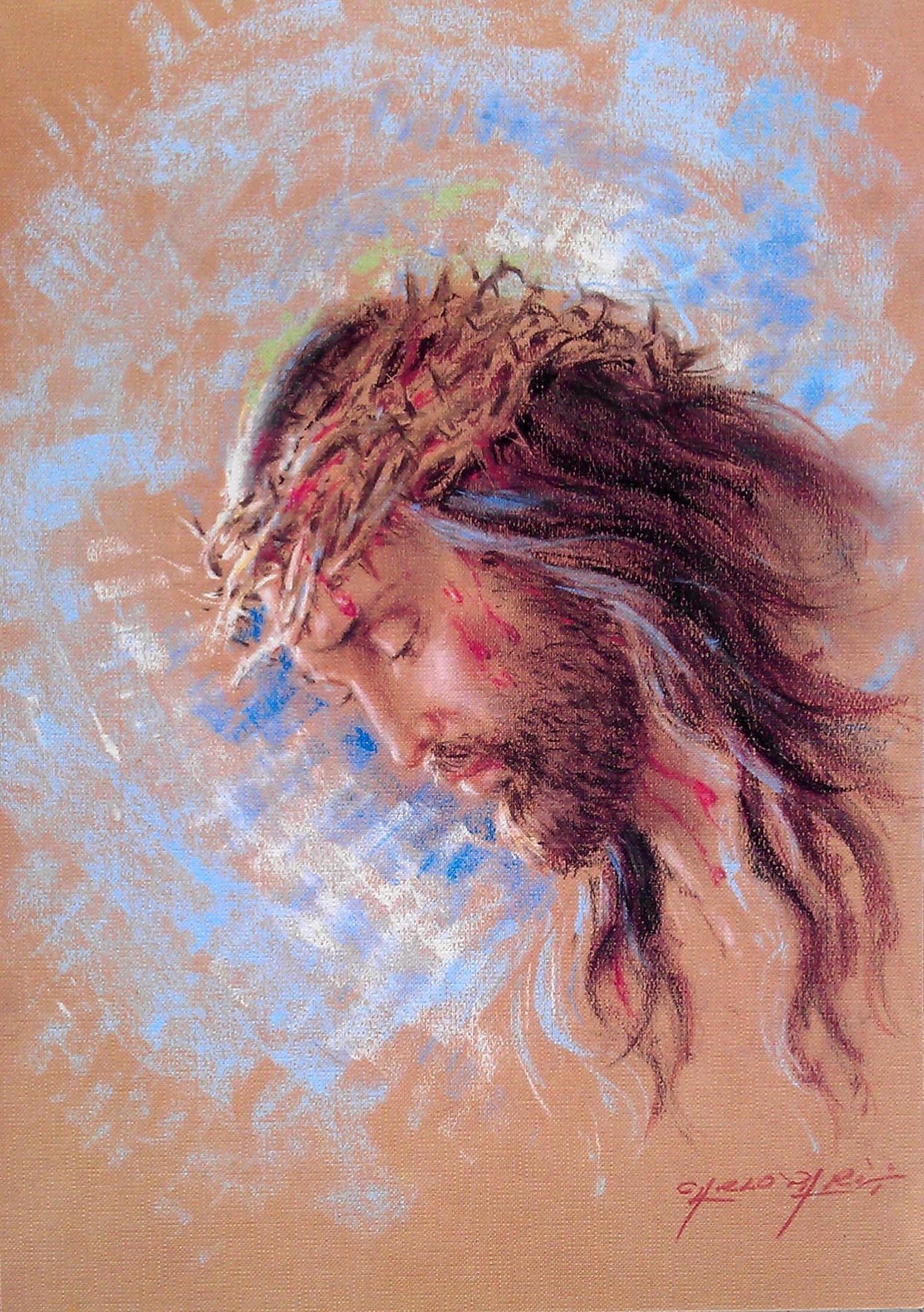 Obraz Ježíše s trnovou korunou