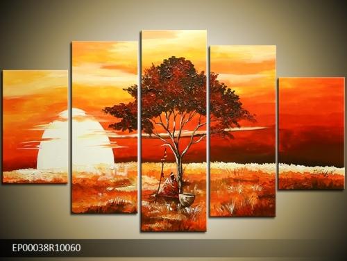 Obraz do bytu ručně malovaný - Afrika