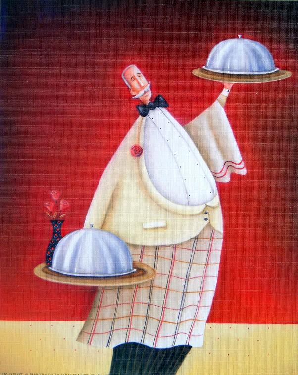 Obraz kuchaře