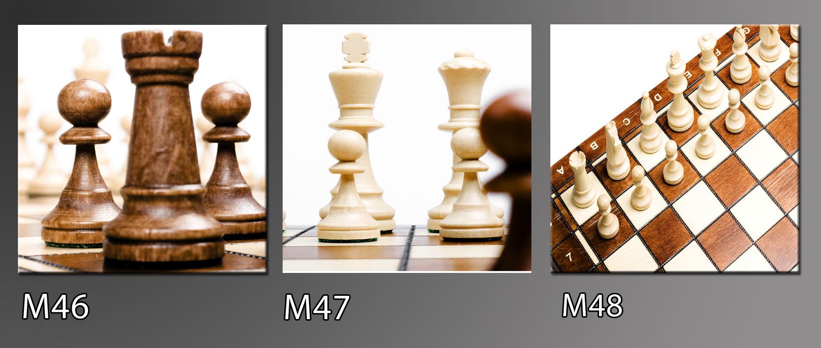 Obraz do bytu šachy