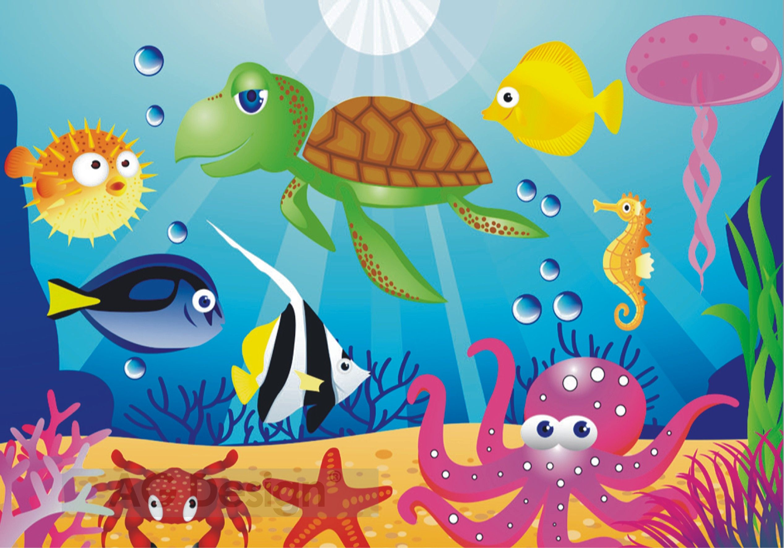 Fototapeta čtyřdílná - moře