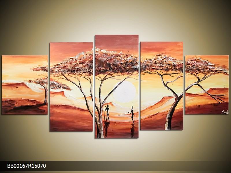 Ručně malovaný obraz krajina