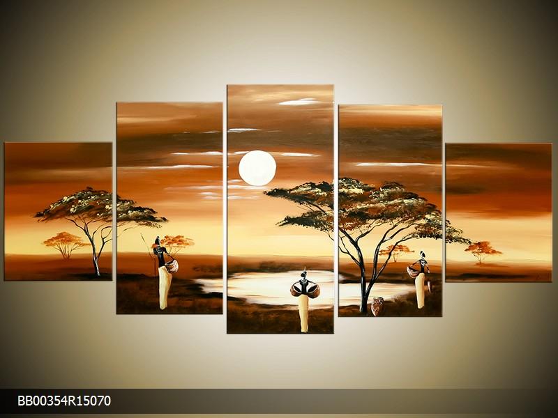 Ručně malovaný obraz Afrika