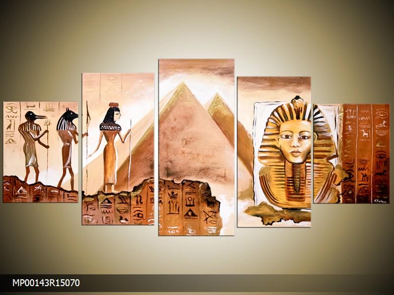 Ručně malovaný obraz Egypt