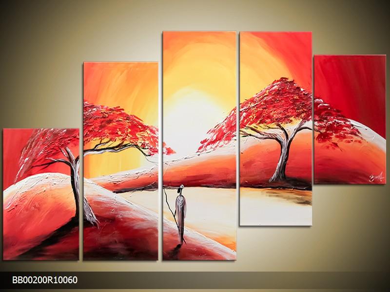 Ručně malovaný obraz Afriky