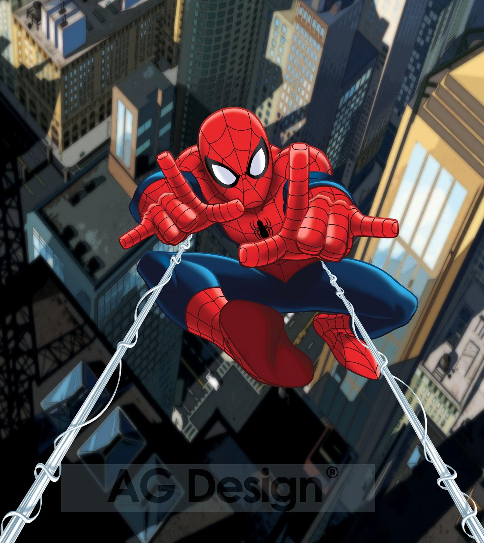 Fototapeta dvoudílná - Spiderman