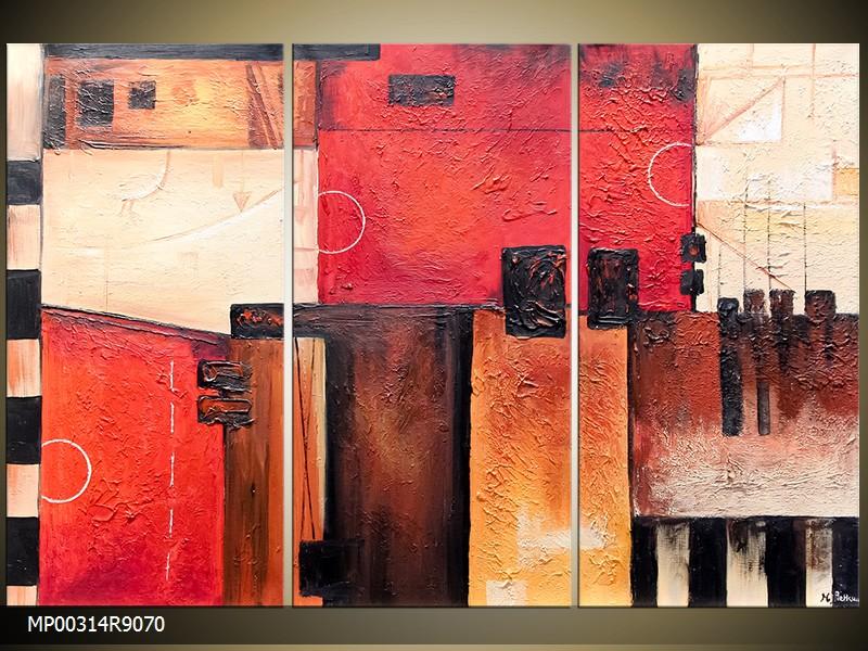 Ručně malovaný obraz abstrakce