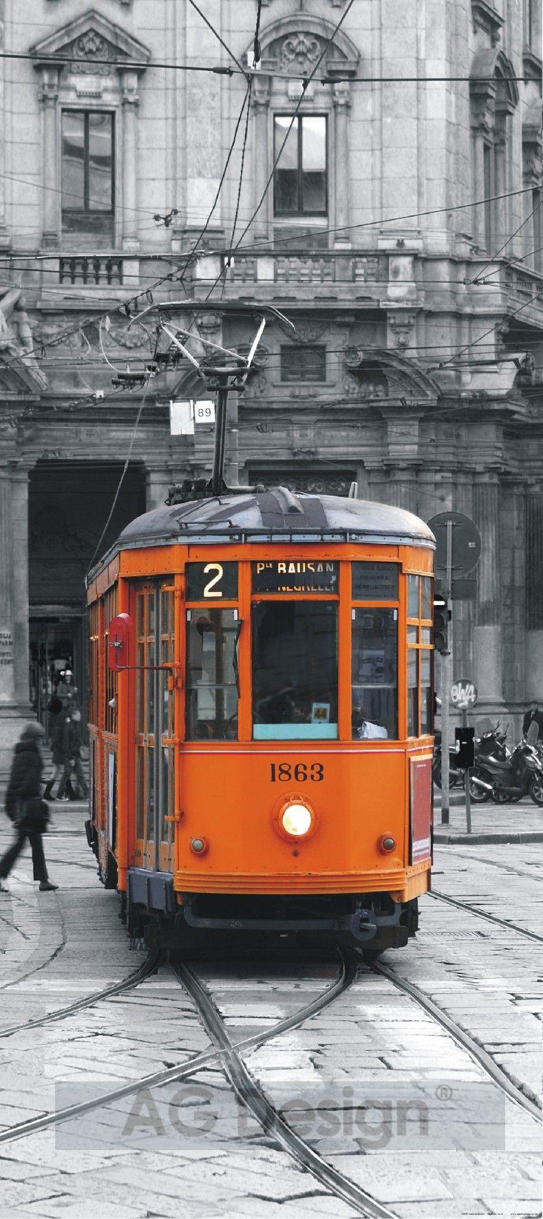 Fototapeta jednodílná - tramvaj