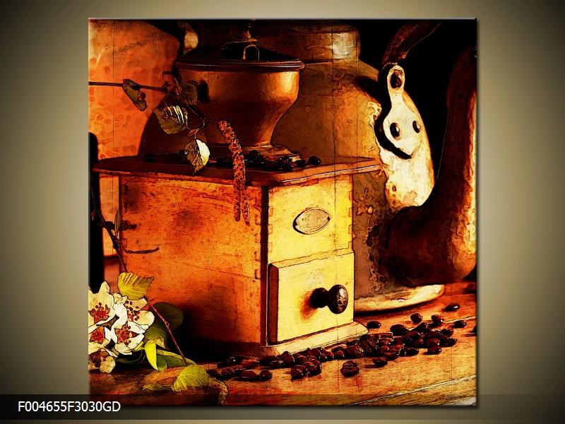 Obraz na skle mlýnek na kávu