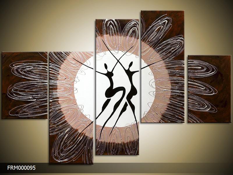 Ručně malovaný obraz pohyb
