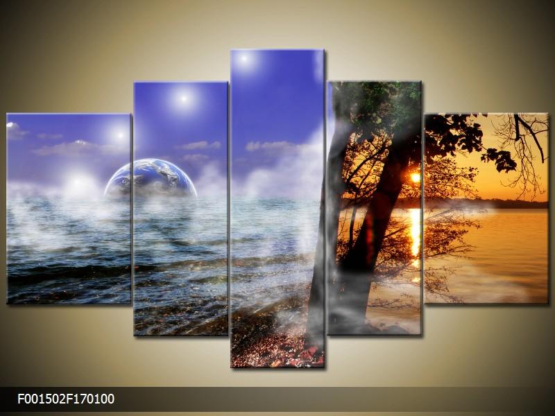 Obraz na stěnu abstraktní krajina