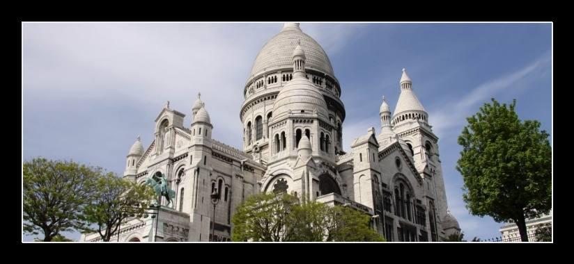 Obraz do bytu Sacré Coeur - Paříž