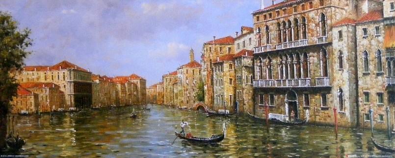 Obraz Benátek